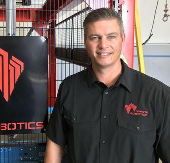 À propos de Nicolas Bélanger, nouveau venu dans l'équipe de Waste Robotics.